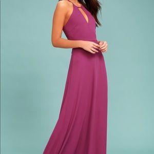 Lulus maxi dress new sz small